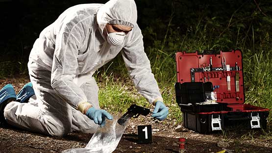 a analysis of criminalistics in the field of forensic science – an introduction to forensic science by richard   specify what the field of criminalistics encompasses  organic analysis.