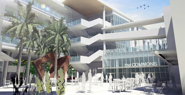 3D Rendering Of Hialeah Campus Project