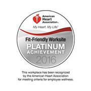 Fit-Friendly Worksites Platinum Award Recognition logo