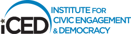 iCED Institute for Civic Engagement and Democracy logo
