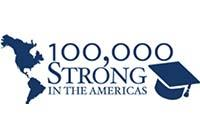 100,000 Strong in the Americas Initiative Logo