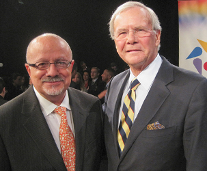 MDC President Eduardo J. Padrón and NBC Anchor Tom Brokaw recently participated in the Education Nation Summit  held in New York City and broadcast live.