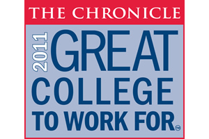 The Chronicle - 2011 Great College to Work For