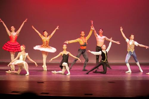 North Campus hosted the Internatinoal Young Medalist Ballet Performance