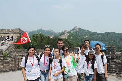MDC students at Great Wall of China