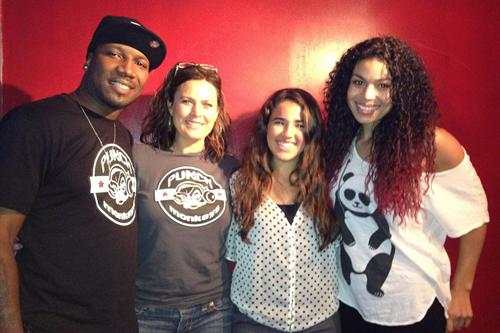Punch Monkey producers, Bianca Sirgany-Castro and Jordin Sparks