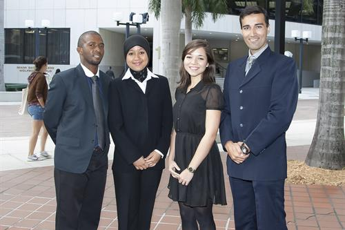 International students at MDC