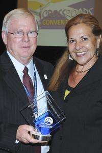 Florida College System Chancellor Dr. Will Holcombe with Dr. María I. Garcia