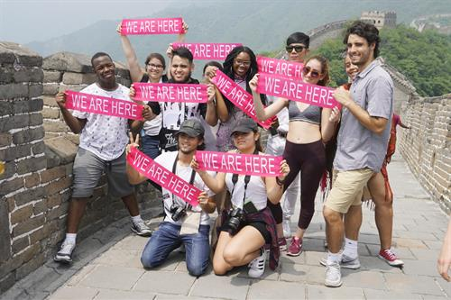 MDC students visit the Great Wall of China