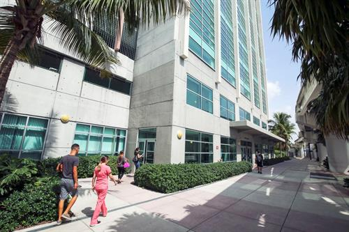 Exterior of ETCOTA building at Miami Dade College