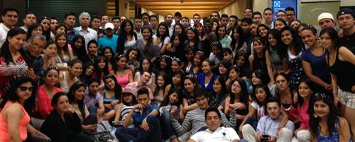Students from Ecuador