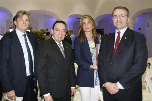 Francesco Bizzarri, Dr. José A. Vicente, Tina Eriksson and Paolo Cuccia