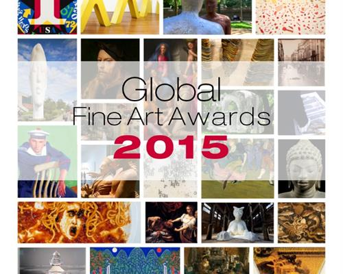Global Fine Art Awards 2015 graphic