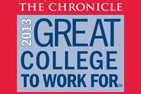 2013 Great College to Work For logo
