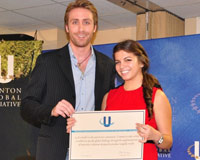 MDC student Ximena Prugue receives award