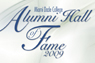 Alumni Hall of Fame logotype