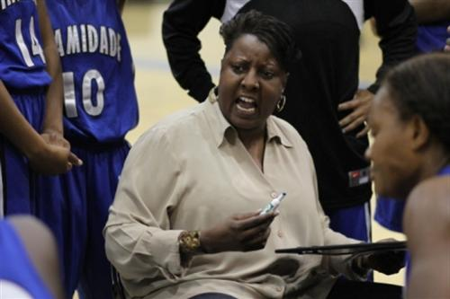 MDC women's coach Susan Summons