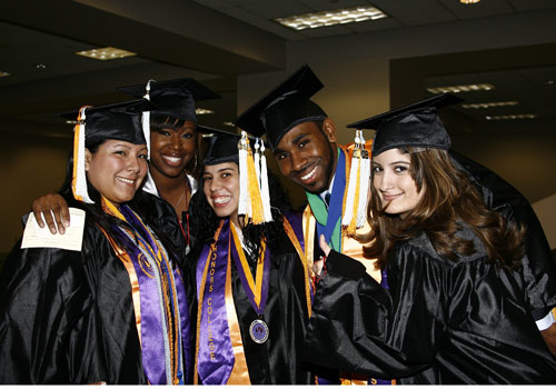 MDC students celebrate graduation.