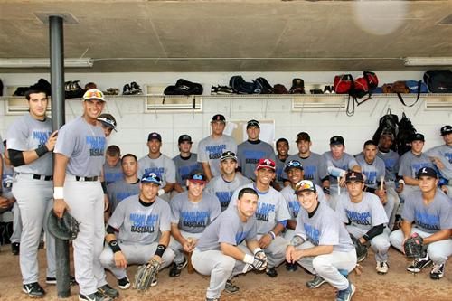 MDC baseball team