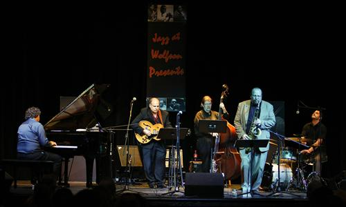 This season's Jazz at Wolfson Presents series opened with the MDC Jazz Faculty Quintet.