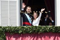 King Felipe VI and Queen Letizia of Spain.