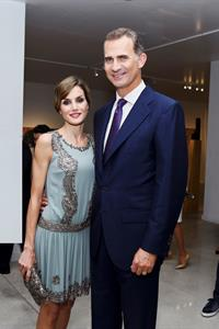 King Felipe VI with Queen Letizia