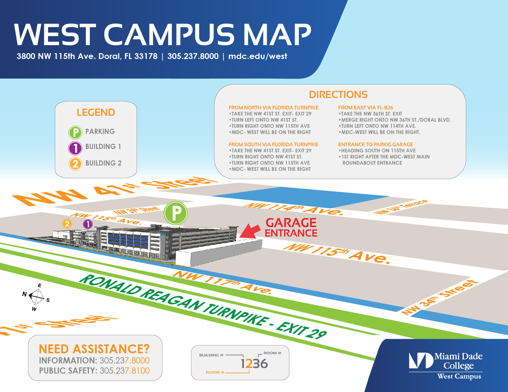 west campus - public safety and emergency preparedness