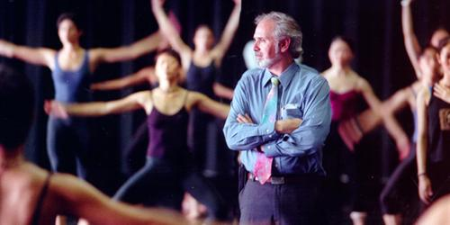 Dean Daniel Lewis and dancers