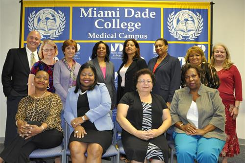 Nursing faculty and administrators
