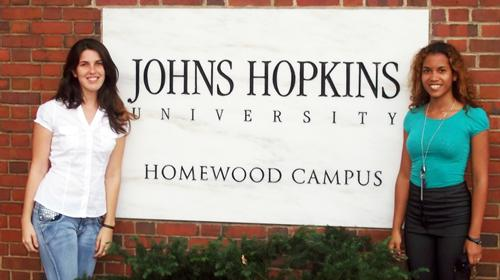 MDC graduates studying at Johns Hopkins University