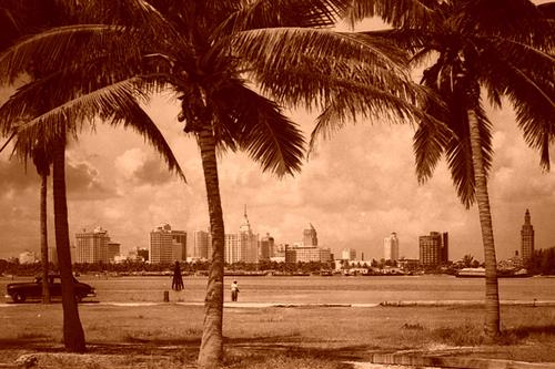 Historic photo of Miami Beach