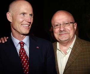 Dr. Padrón and Gov. Rick Scott