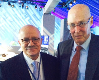 President Padrón and former U.S. Sec. of the Treasury Henry Paulson