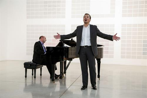 Tenor David Portilla and Conductor Gregory Ritchey