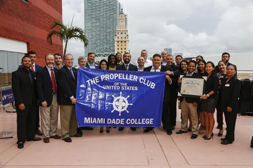 MDC student chapter of Propeller Club