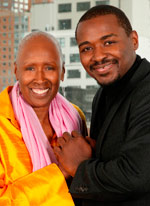 Alvin Ailey Artistic Director and Robert Battle