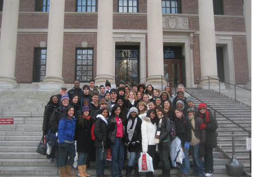 Students in the School for Advanced Studies tour top colleges.
