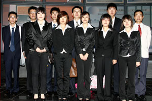 TIANJIN Hospitality Students
