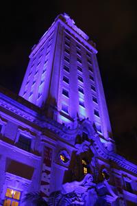 Freedom Tower purple 1