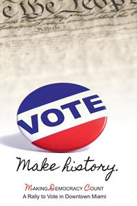 Making Democracy Count poster