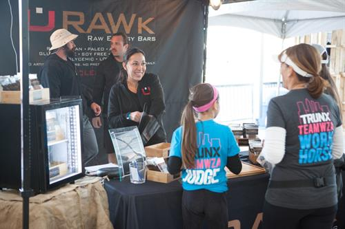 U-RAWk founder Isabel Gallego