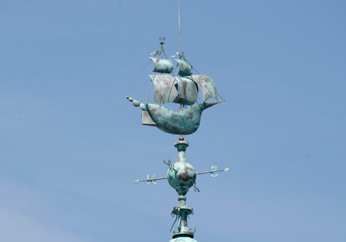 image of weather vane