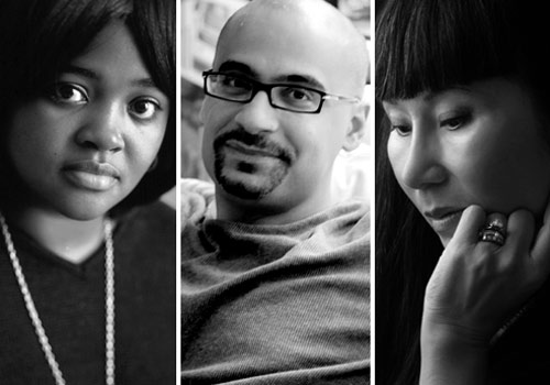 Sister Souljah, Junot Díaz and Amy Tan