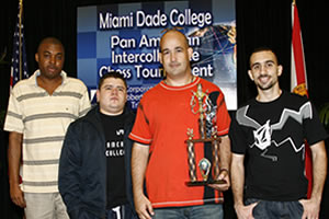Miami Dade College's chess team