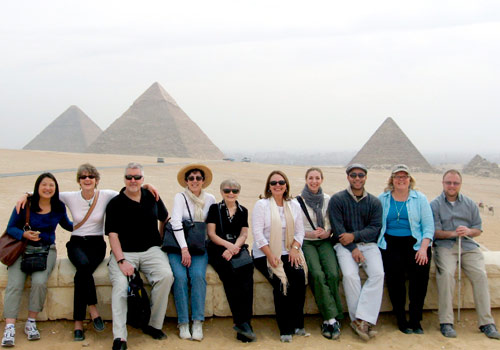 Staff of the Florida Center of the Literary Arts at MDC in Egypt to launch The Big Read