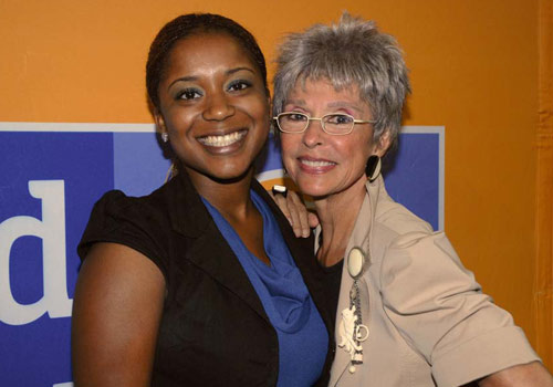 Sharah Herise and Rita Moreno