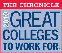 The Chronicle's 2010 Great Colleges to Work For cover