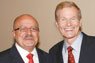 Dr. Eduardo J. Padrón and Sen. Bill Nelson