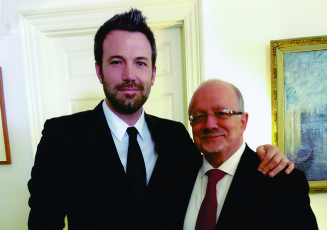 Ben Affleck and President Padrón