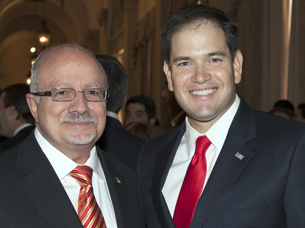 President Padrón and Marco Rubio